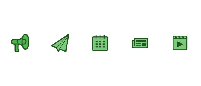 icons greens