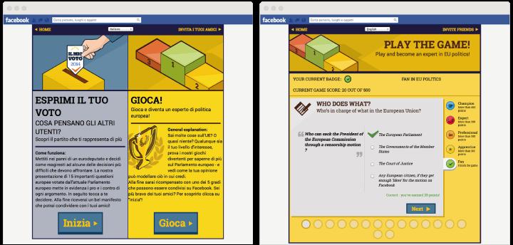 image of facebook app