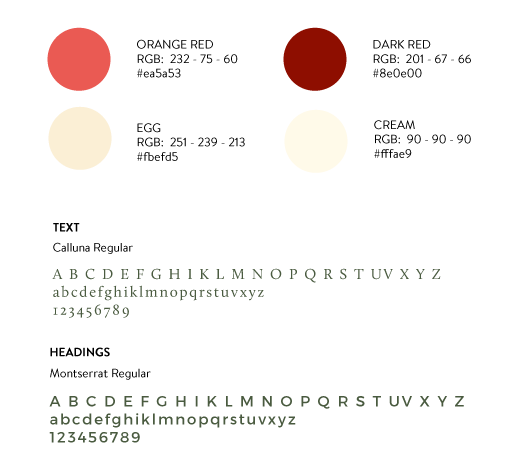 colors and fonts for art bonus