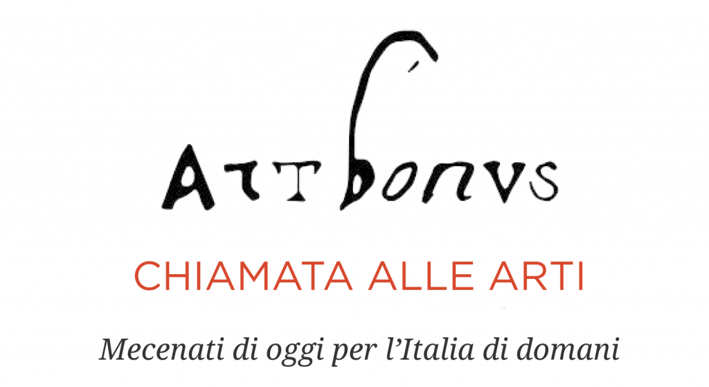 image of the artbonus' logo with payoff