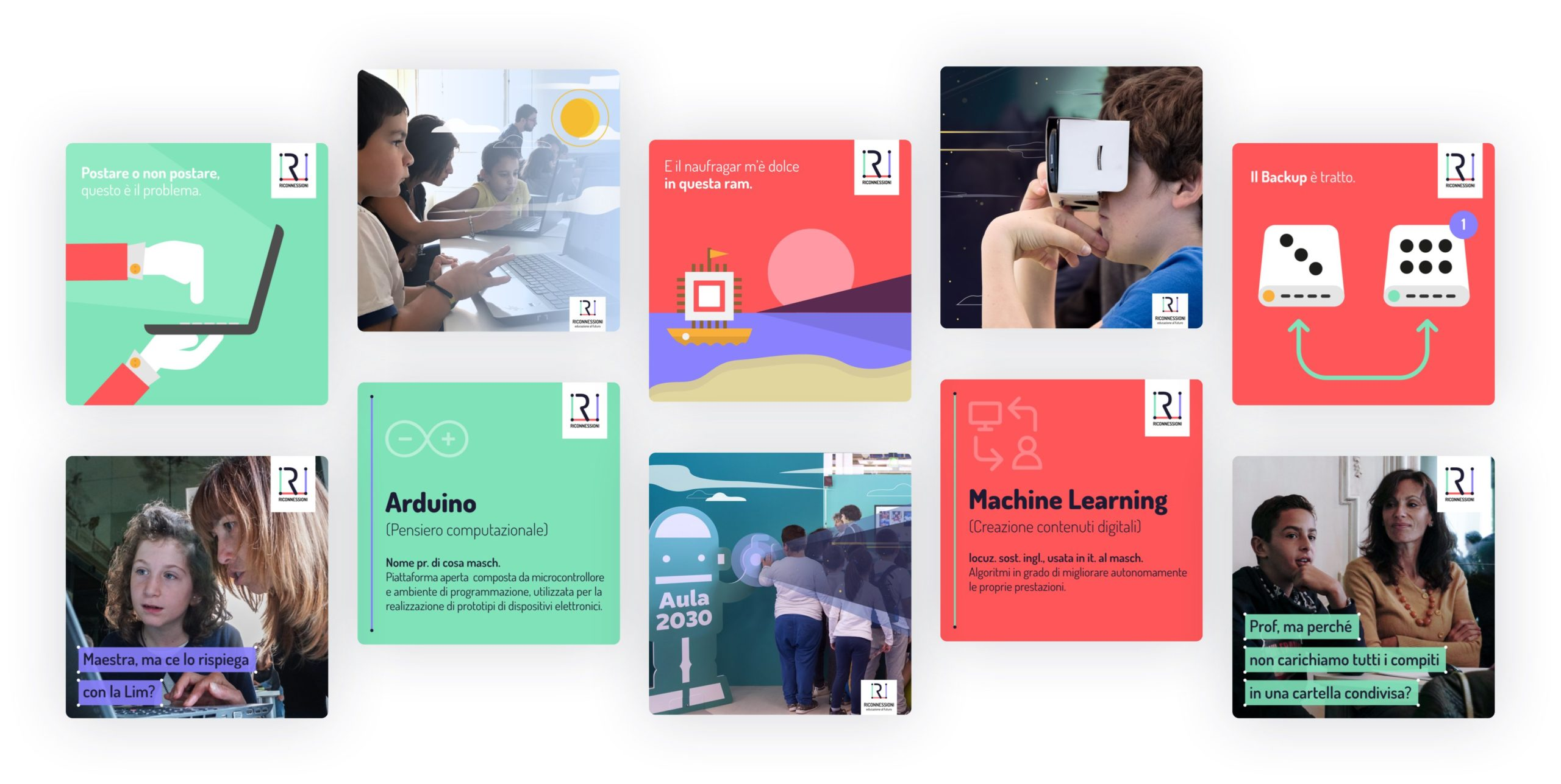 social cards engagement - riconnessioni project