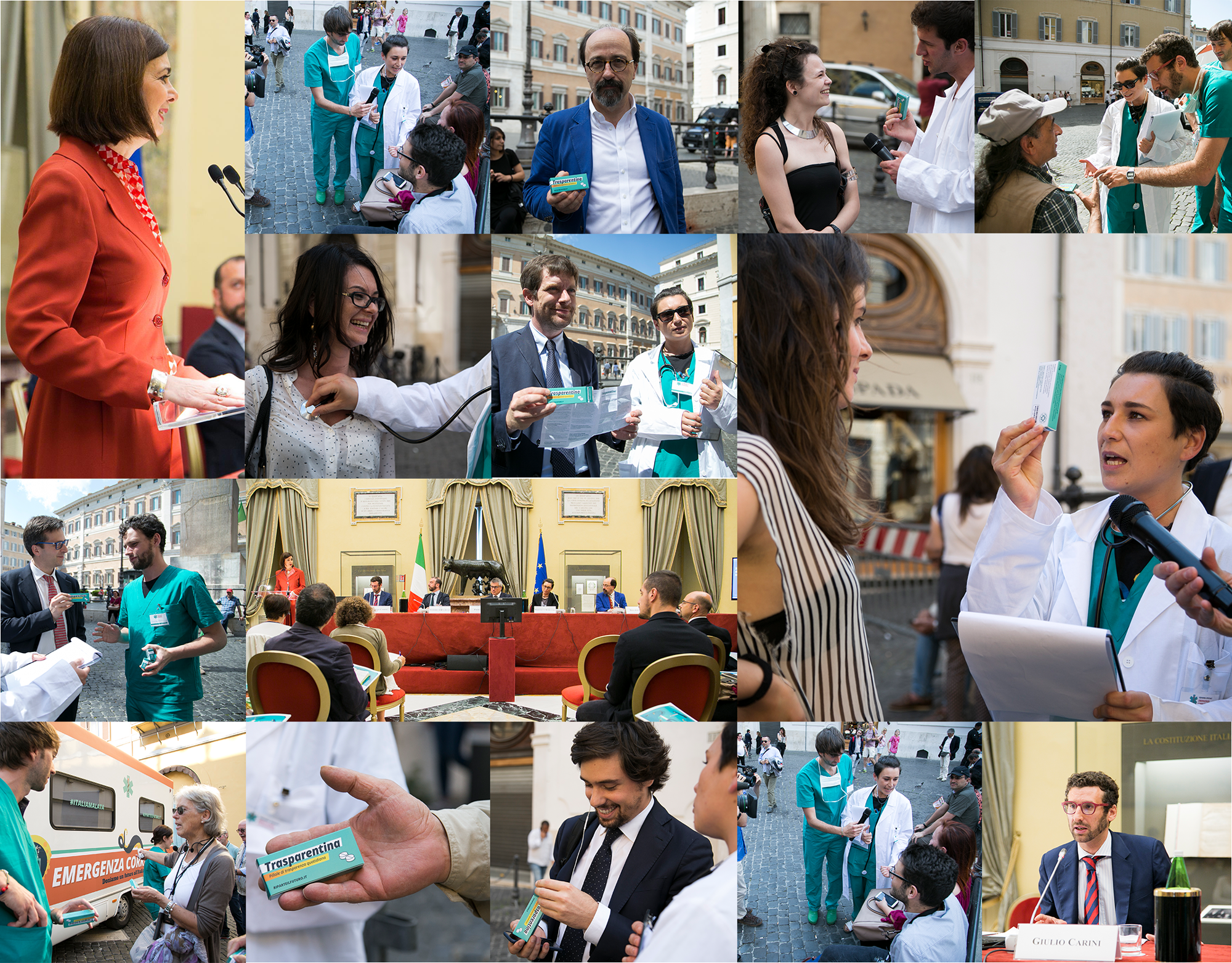 image with some photographs of the event