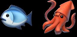 image of some fish emoji