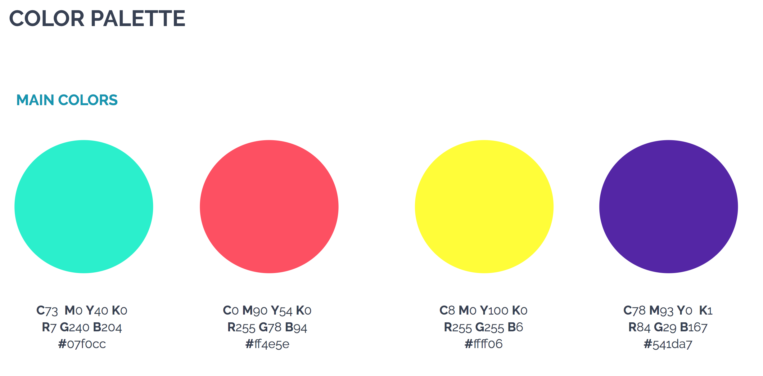 image of the color palette