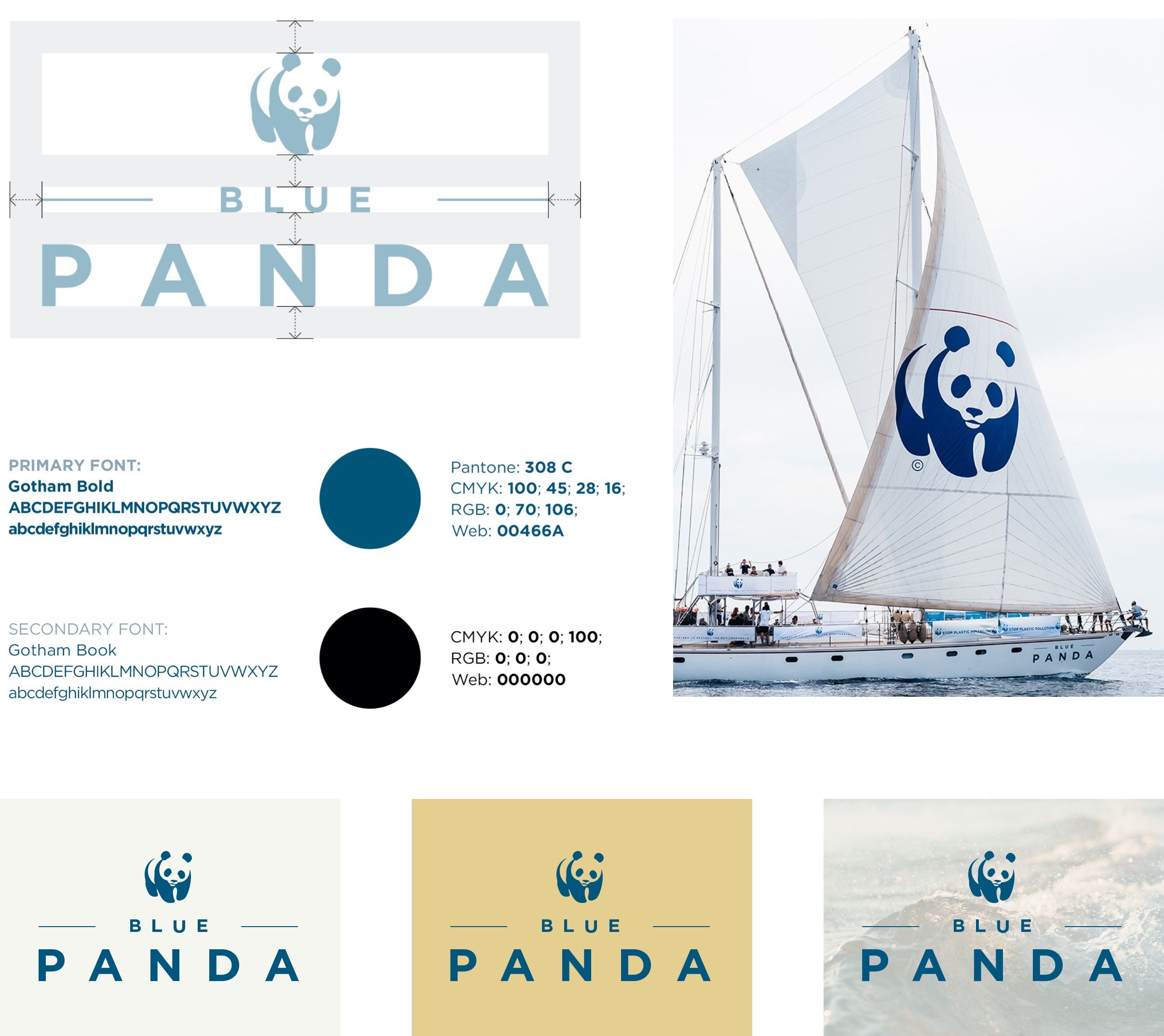 wwf boat brand identity