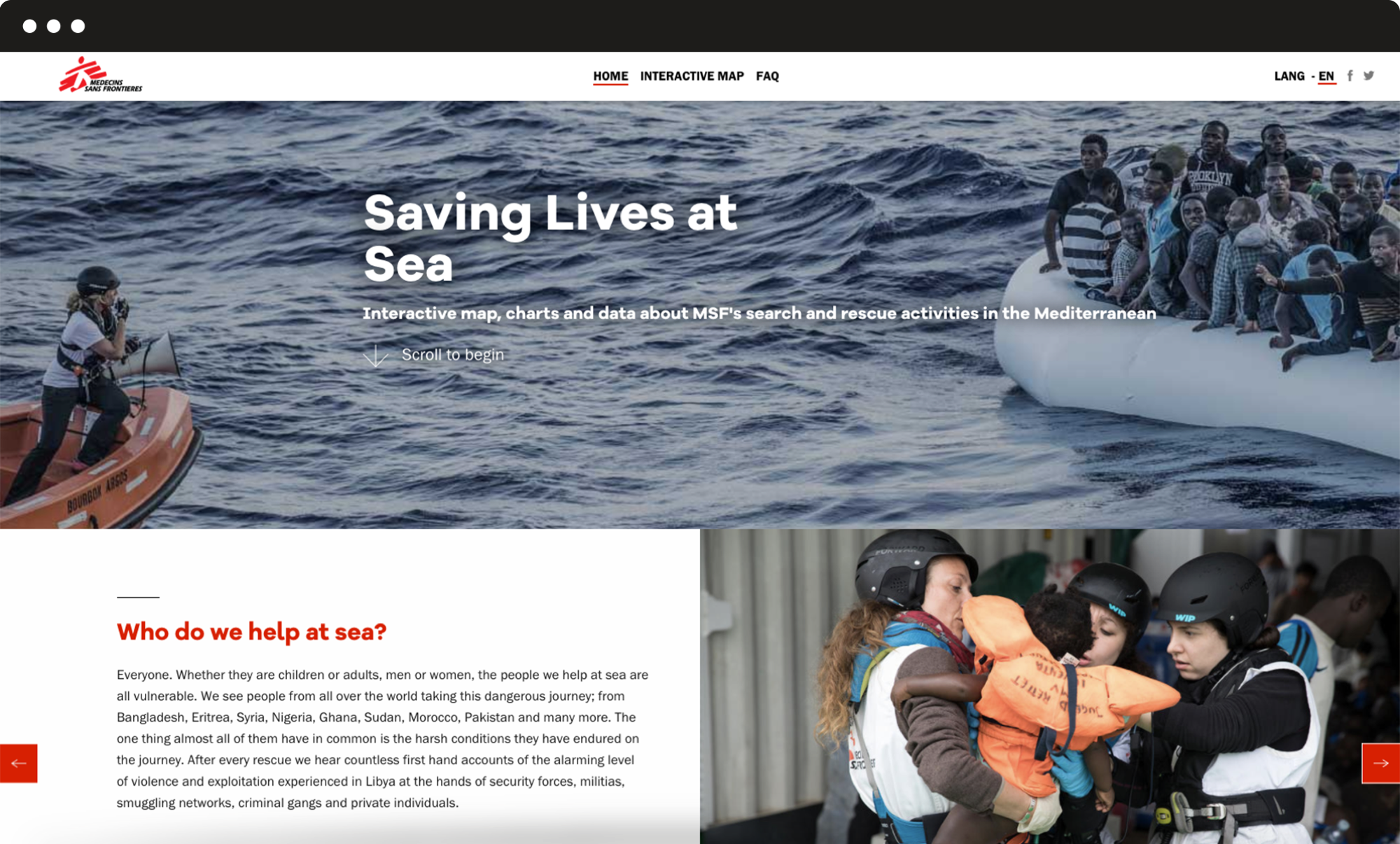 header saving lives at sea doctors without borders