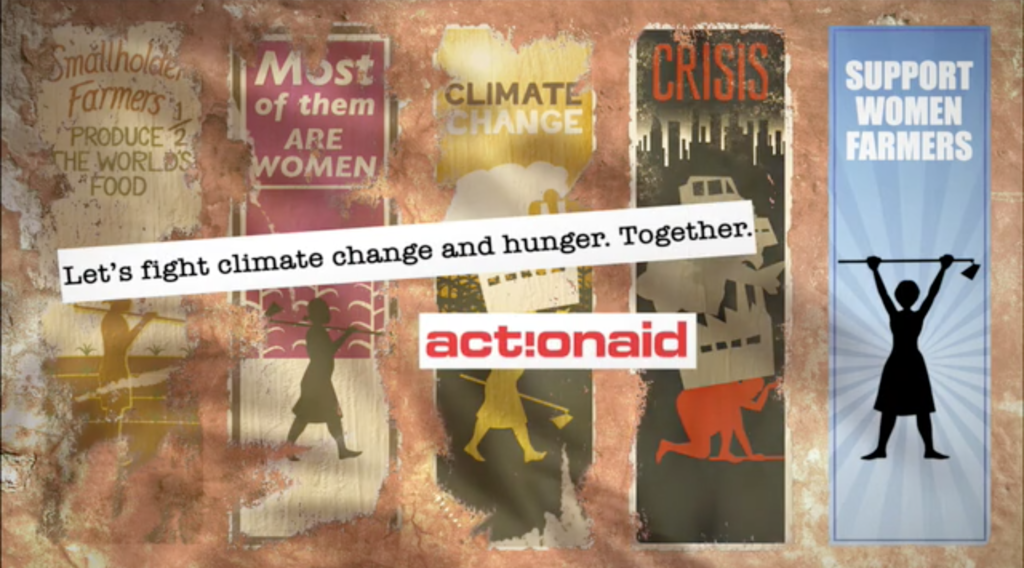 Let's fight climate change and hunger. Together