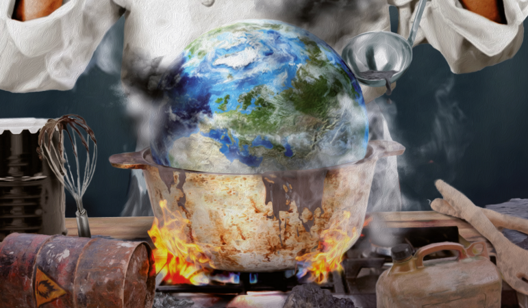 Don't cook the planet, president Barroso!