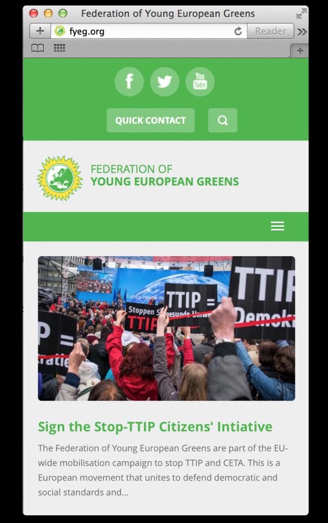 image of responsive website