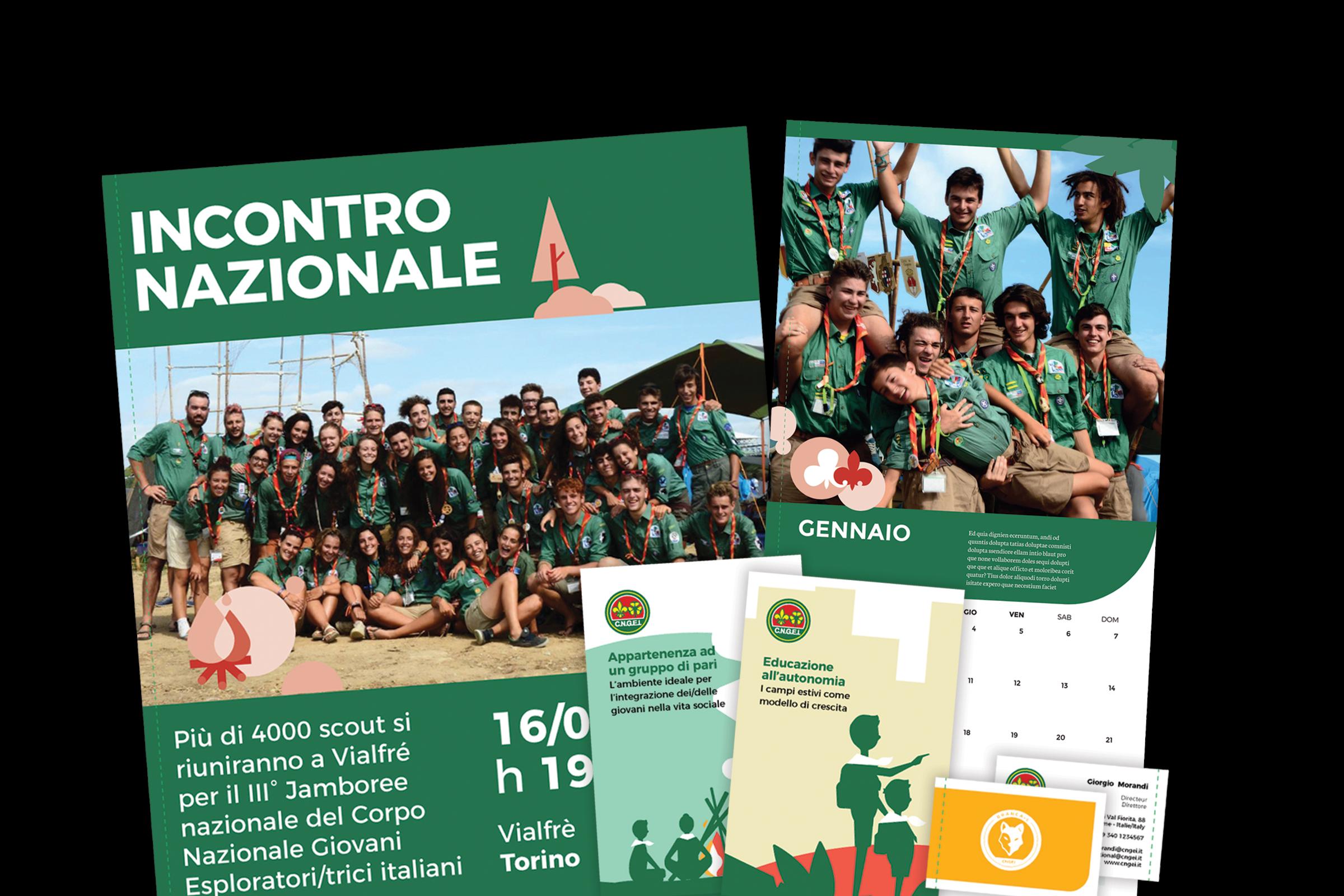 image of CNGEI's offline communication (poster, brochure, etc)