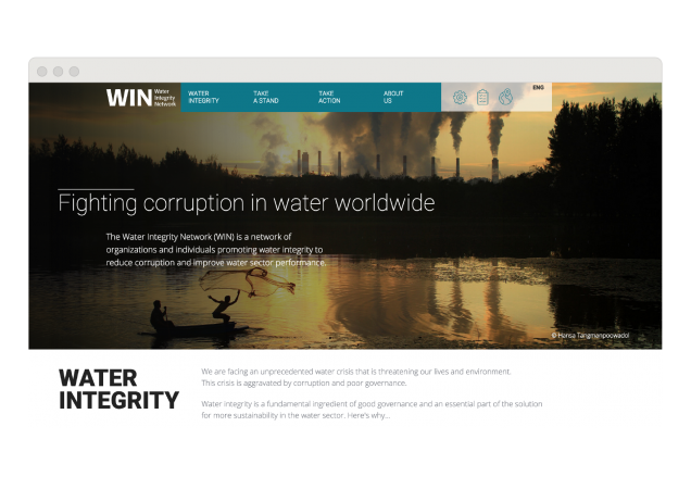 image of win website homepage