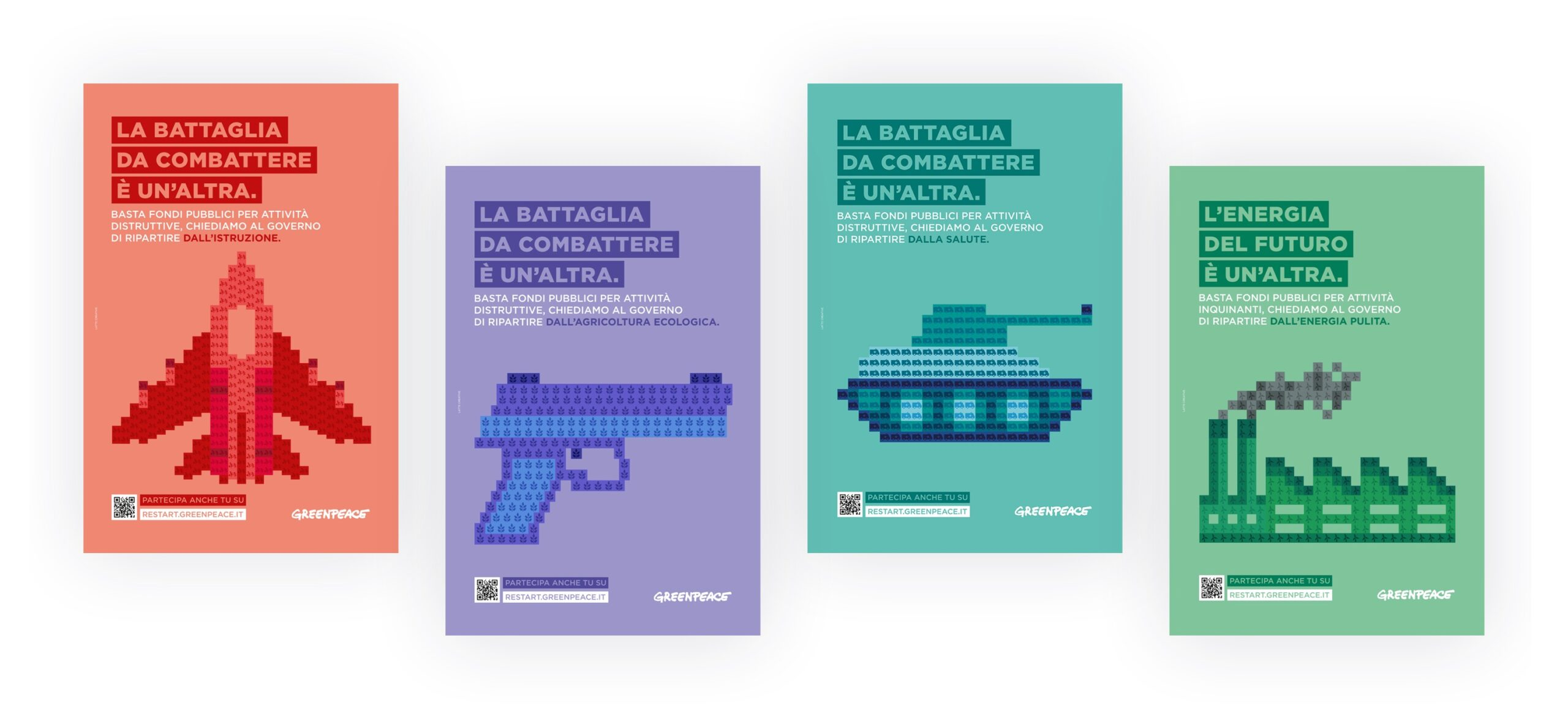 posters campaign greenpeace
