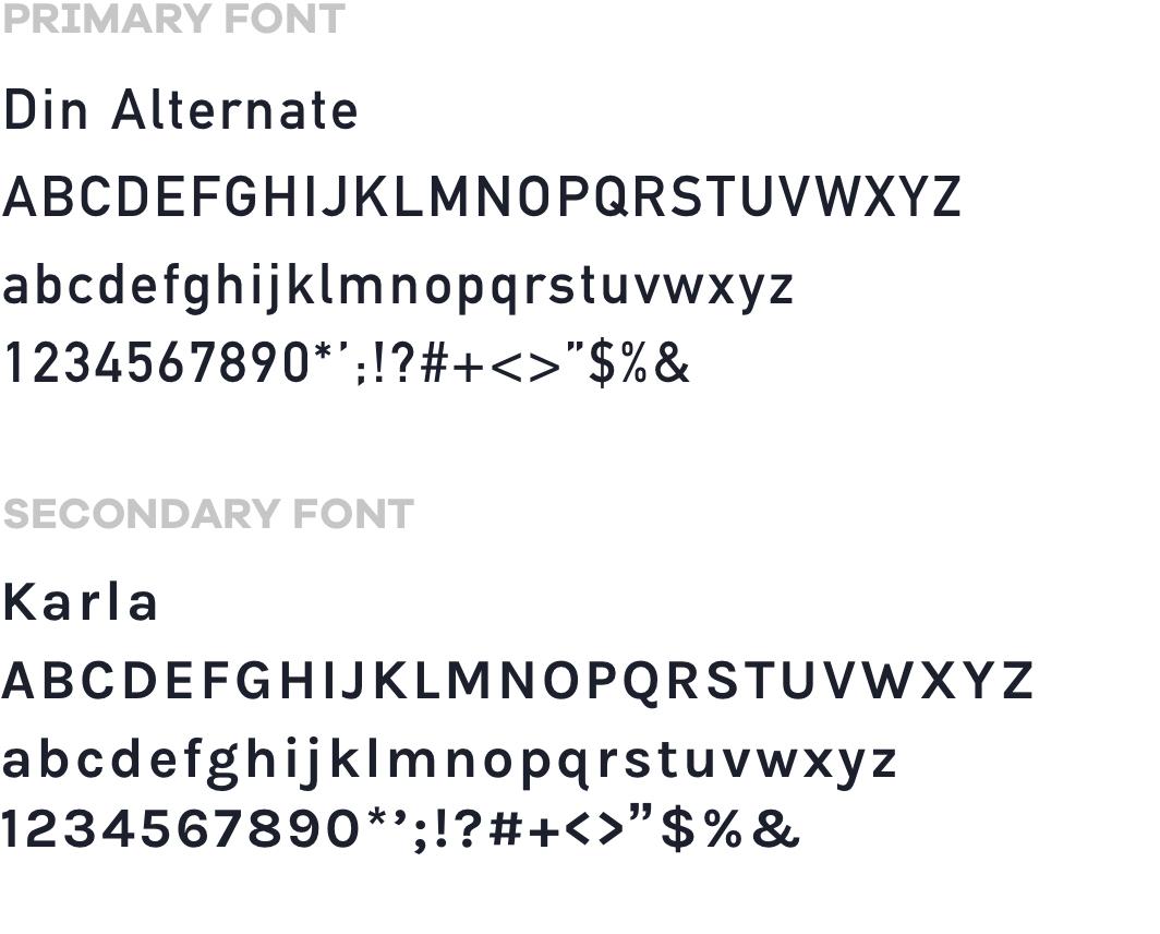 mobile fonts yourturn