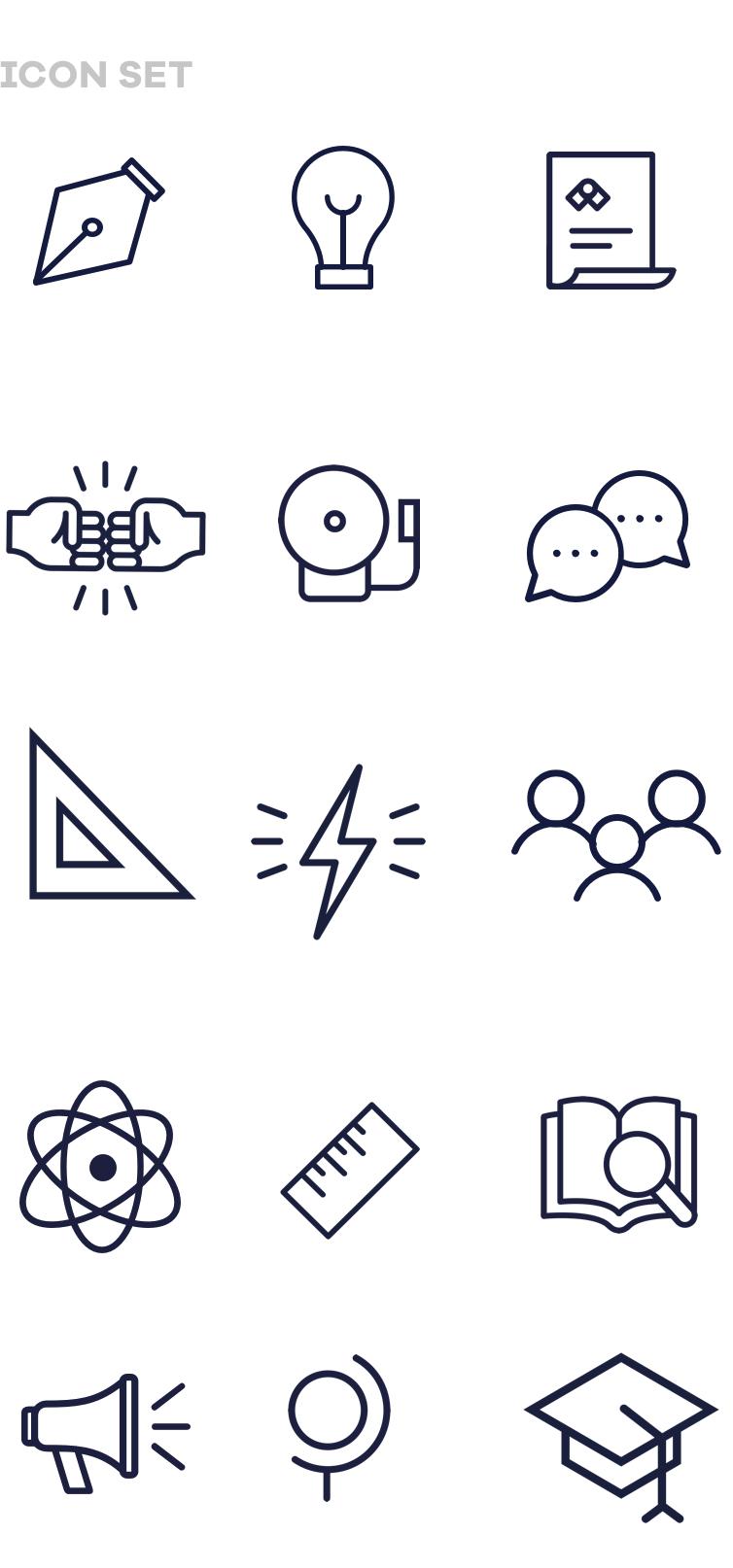 icon set mobile yourturn