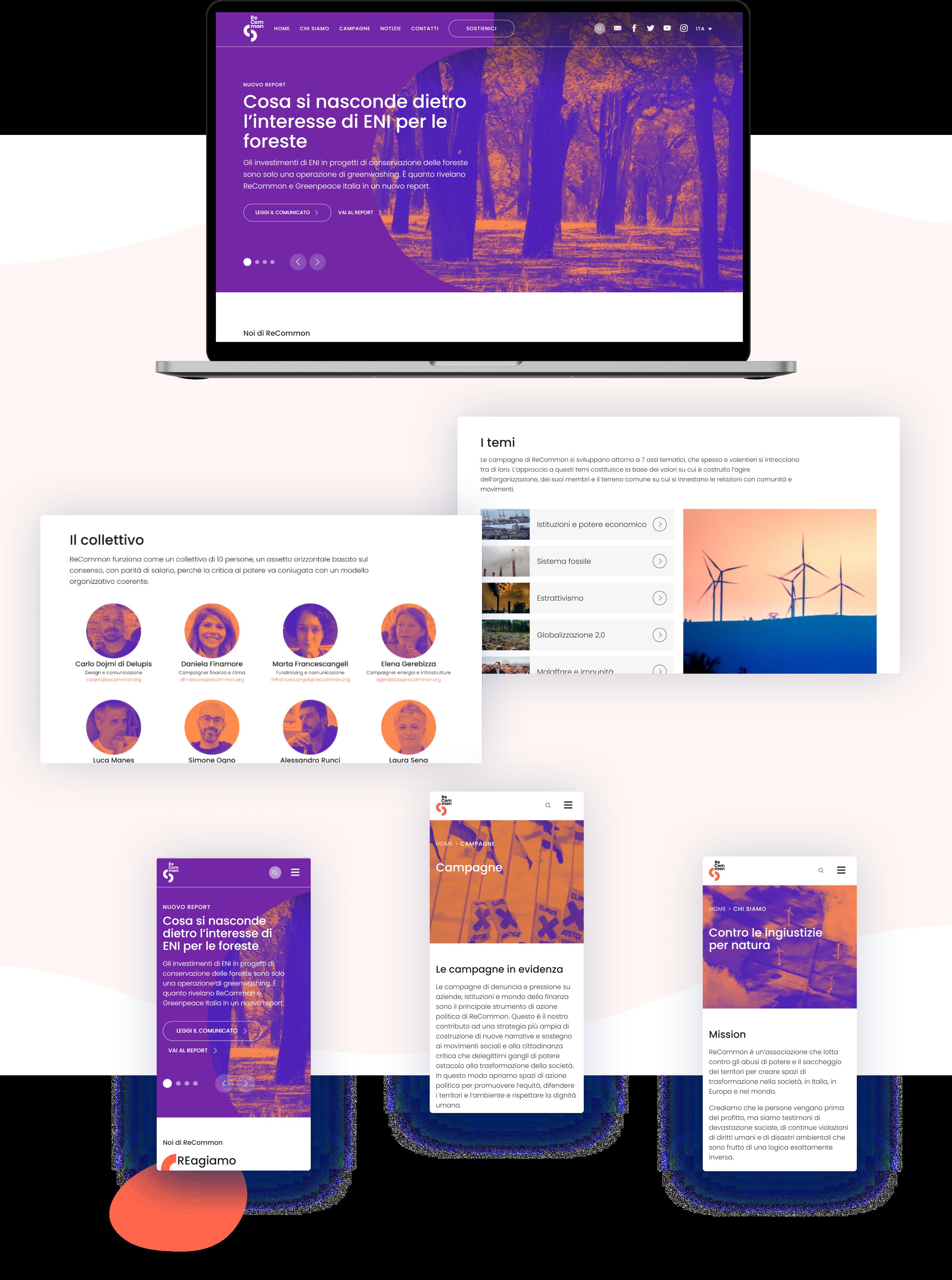 Mockup Website Desktop recommon
