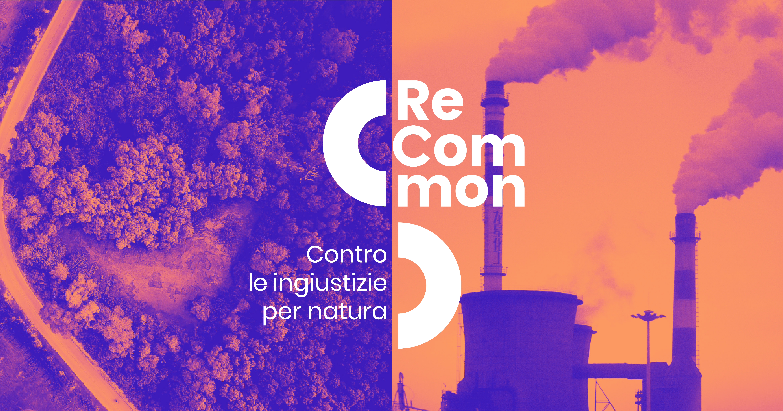 Brand identity Recommon split image with logo